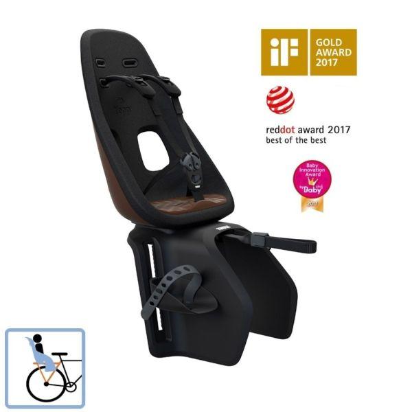 Dječja sjedalica stražnja za nosač Thule Yepp Nexxt Maxi smeđa
