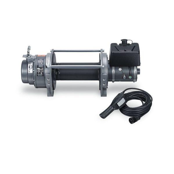 Industrijsko vitlo Warn Series 12 EN14492, 24V, 49kN (5.000kg) bez sajle i vodilice, s žičnim daljinskim i zaštitom od preopterećenja