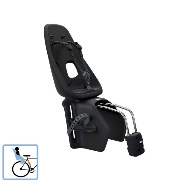 Dječja sjedalica stražnja na ramu Thule Yepp Nexxt Maxi Frame Mounted crna