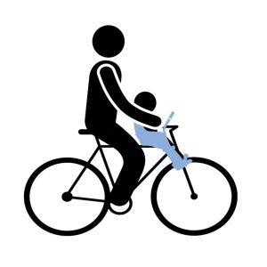 Dječje sjedalice za bicikl prednje za upravljač Thule