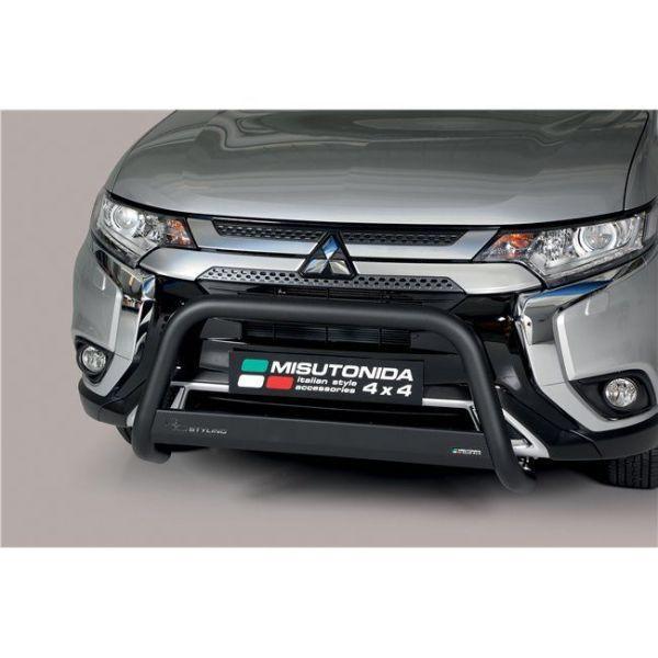 Misutonida Bull Bar Ø63mm crni za Mitsubishi Outlander 2020
