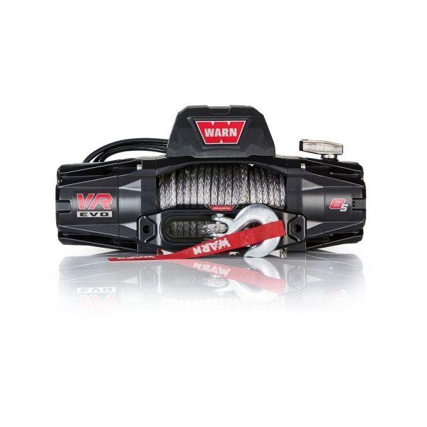 Vitlo Warn VR EVO 8-S, 12V, 3.629kg sa sintetskim užetom, vodilicom i žičnim i bežičnim daljinskim