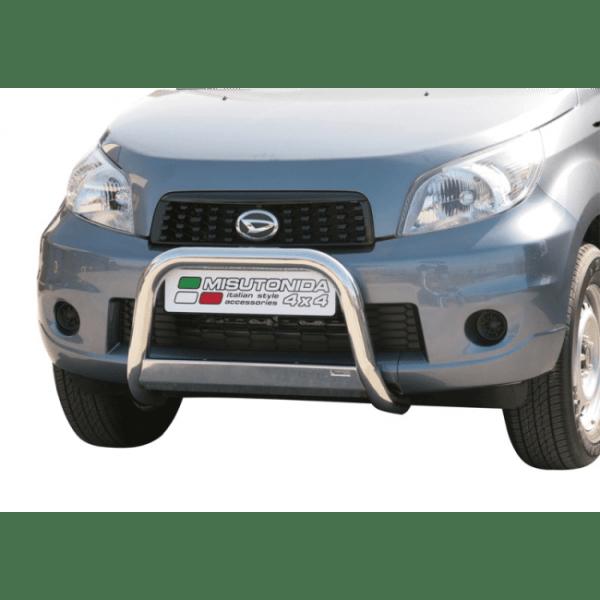 Misutonida Bull Bar Ø63mm inox srebrni za Daihatsu Terios SX 2009-2017 s EU certifikatom