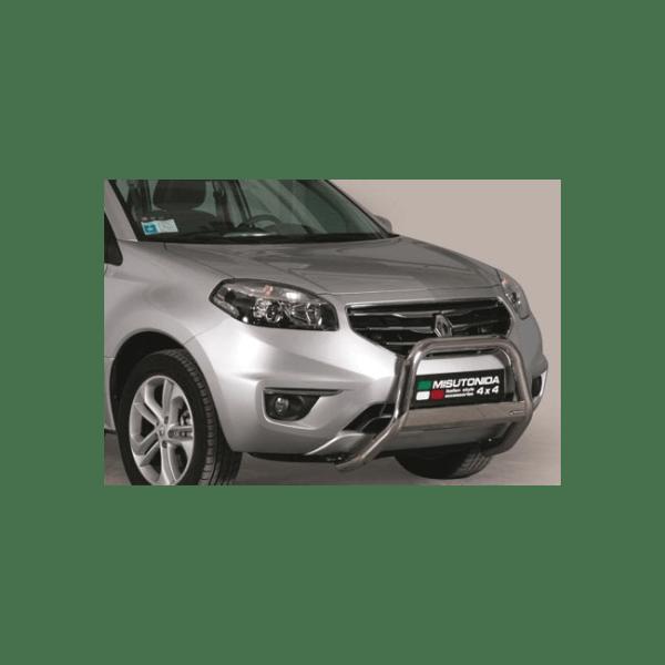Misutonida Bull Bar Ø63mm inox srebrni za Renault Koleos 2011+ s EU certifikatom