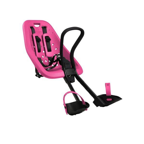 Dječja sjedalica prednja za upravljač Thule Yepp Mini ružičasta