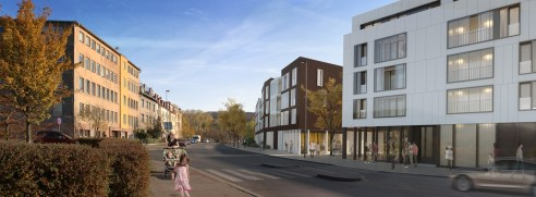 Apartment houses, Prague / / client: QARTA architektura
