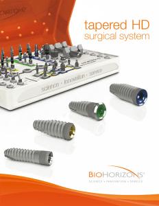 BioHorizons implantációs rendszer
