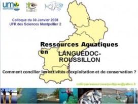 ressources aquatiques en Languedoc-Roussillon