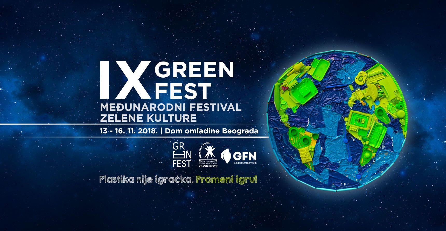 """Позив за 9. међународни фестивал зелене културе- """"Green fest"""""""