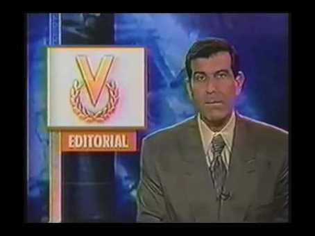 Editoriais da Venevisón constantemente iam contra o governo Chávez