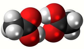 Un dímero de ácido acético