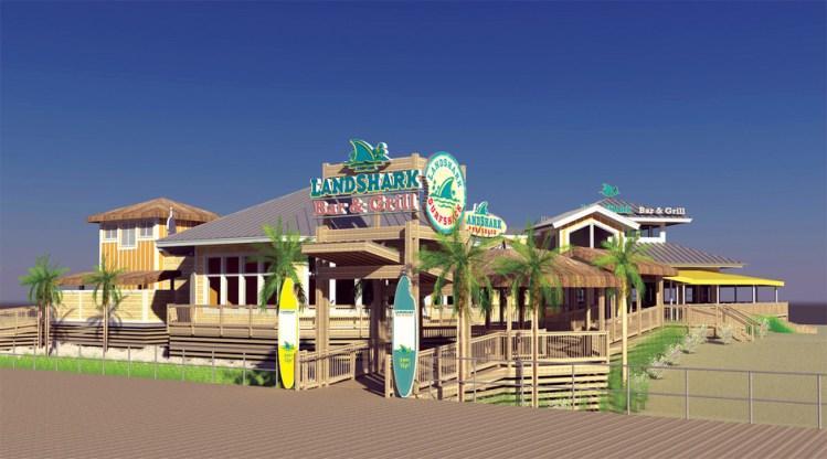 Landshark Bar and Grill behind the Resorts Casino - Hotel