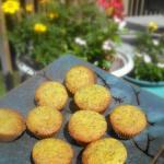 Coconut Flour Lemon Muffins
