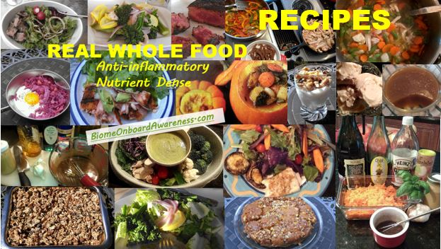 A FEW INDEX CARD RECIPES FOR WHOLE FOODS