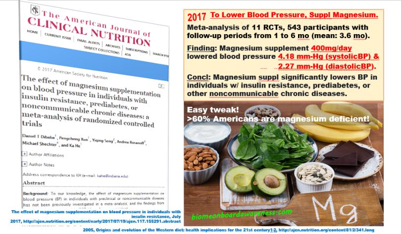 Source: Hypertension, _Mag Suppl decreased BP, biomeonboardawareness.com