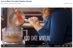 Image showing how to make chocolate hazelnut spread