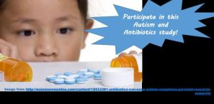 Autism and Antibioitics Study