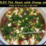 SCD PALEO Pot Roast with Orange and Dates.