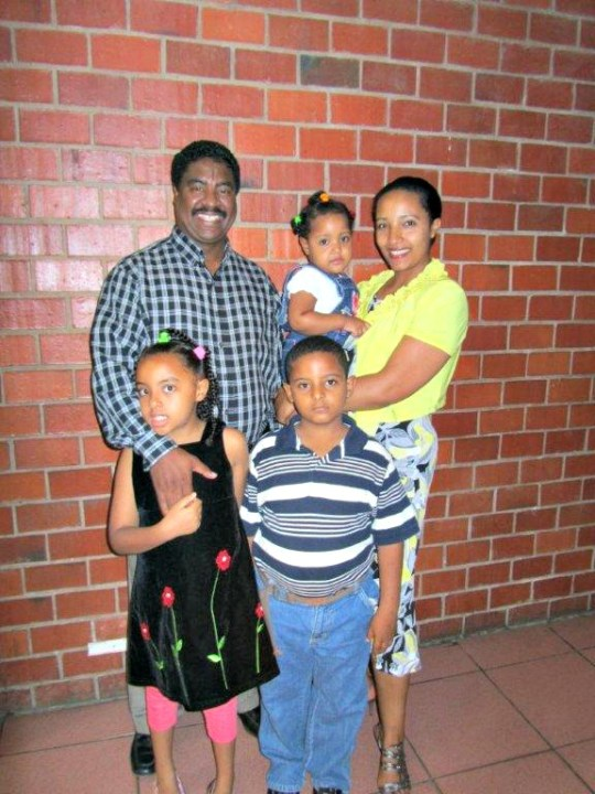 Picture of the Getaneh Family