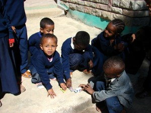 Photo of children playing at school