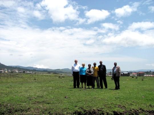 Photo of donated land