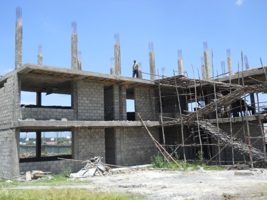 photo of school construction