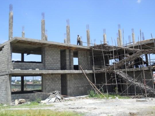 photo of school construction