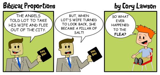 Comic about miscommunication.