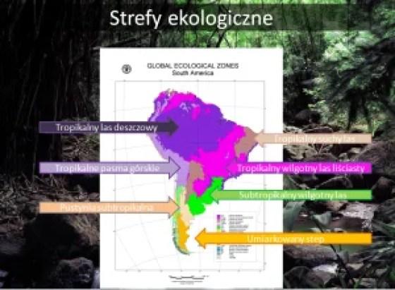 Fig. 4 Strefy ekologiczne