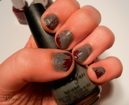 Zombie manicure by Bionic Beauty