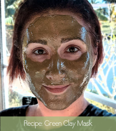 Bionic Beauty's DIY Aztec Secret Green Clay Face Mask Recipe