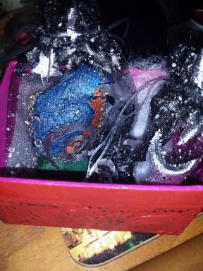 Kingfisher Broach/Pendant for Richard's Mum in gift box