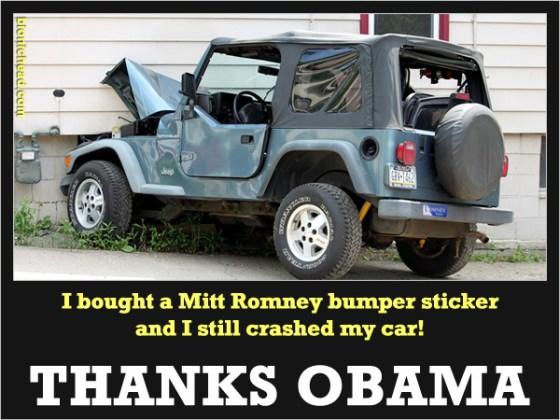 Mitt Romney Thanks Obama