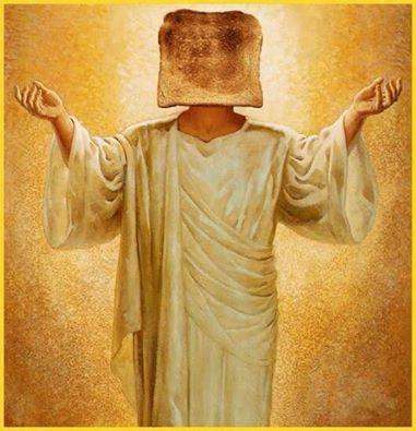 Jesus Toast Head