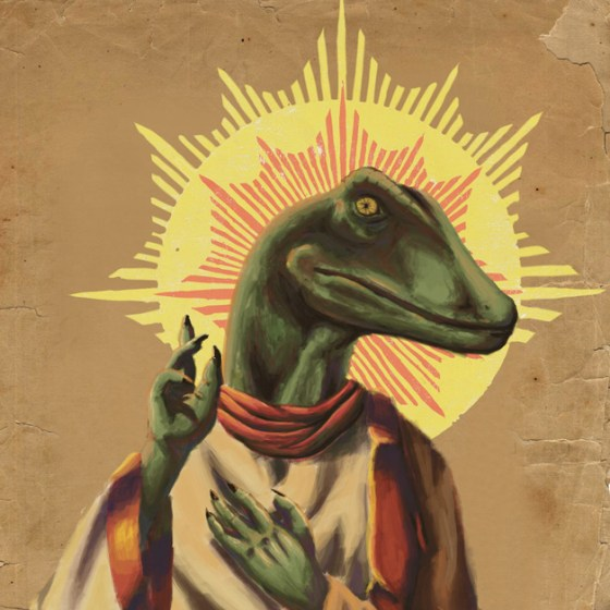 Is Jesus a reptile?