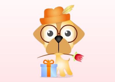 e-Puppy Card