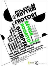 2009 Aconito @ Rythmn Factory, Lond