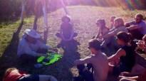 Bioni Samp - Live at Nomadic Community Gardens 2015