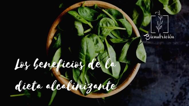Los beneficios de la dieta alcalinizante- Bionutrición Ortomolecular