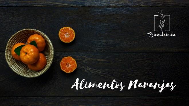 Propiedades de los alimentos naranjas-Cromonutrición: los beneficios de los alimentos según sus colores- Bionutrición Ortomolecular