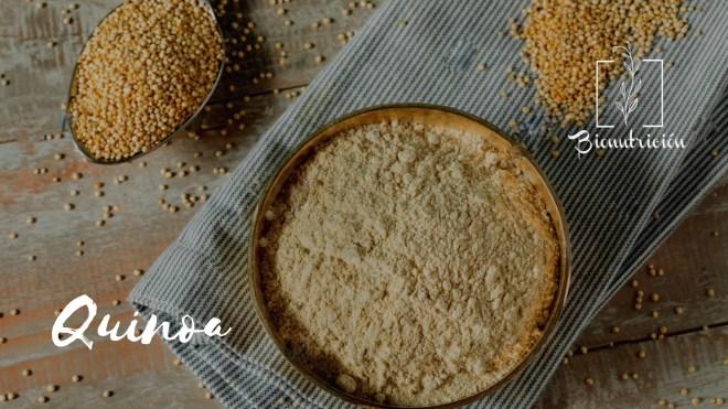 Harinas saludables: alternativas a la harina de trigo común. Quinoa- Bionutrición Ortomolecular