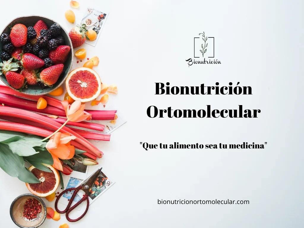 Nutrición Ortomolecular 2