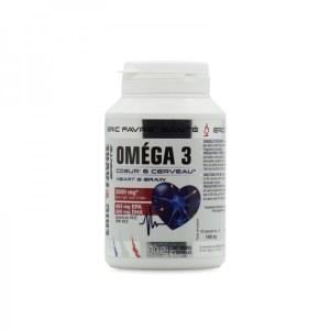 Omega 3 - Cœur et cerveau - 3000 mg - 60 capsules