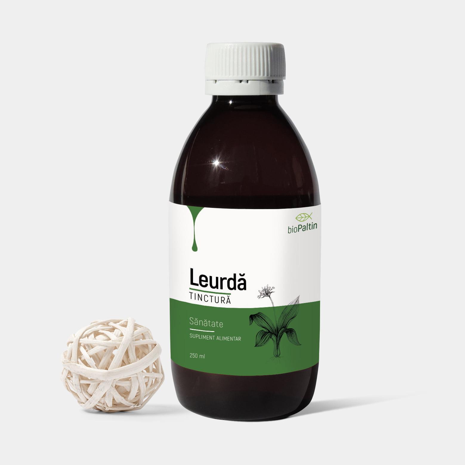 TINCTURĂ DE LEURDĂ (Allium ursinum)