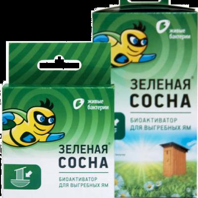 Биоактиватор для выгребных ям Зелёная сосна