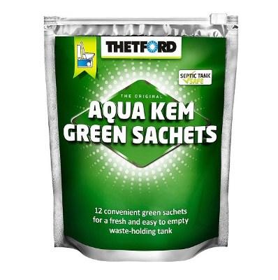 Порошок для биотуалетов Aqua Kem Green Sachets 12шт