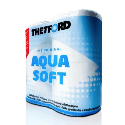 Туалетная бумага AQUA SOFT
