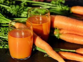Carrots Juice For Cure Angina Pectoris