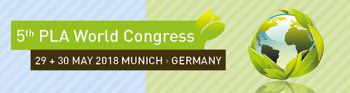 bioplastics events pla congress 2018