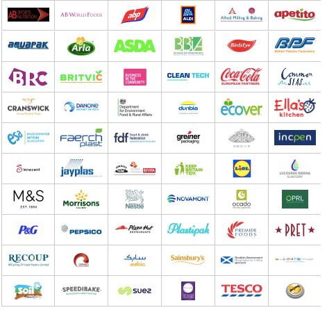 UK plastics Pact members